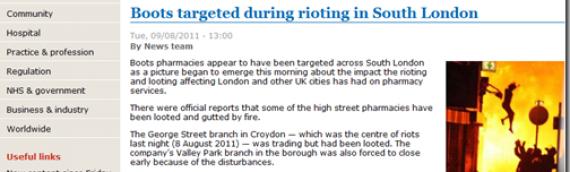 A senseless charade: #londonriots